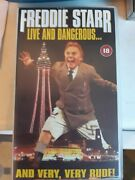 Freddie Starr Live And Dangerous - Blackpool/the Opera House - Stand-up - Vhs