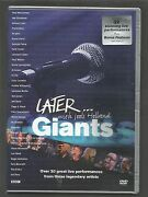 Later With Jools Holland - Giants - Uk Region 2 Dvd - 32 Great Live Performances