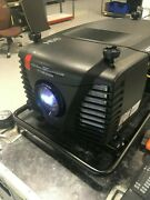 Barco Clm-hd8 Lcd Projector Bundle With Road Case And Short Zoom Lens