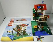 Lego Creator Treehouse 31010 - 100 Complete With Manuals