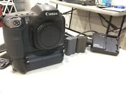 Canon Eos 10d Black Body, 6.1mp, With 2 Batterys And Charger