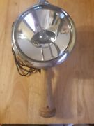 Vintage 1950and039s Ge Unity Spotlight From Cop Car Model S-5