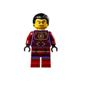 New Lego Clouse Hair - Tournament Of Elements From Set 70748 Ninjago Njo112