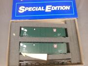 Ho Scale Athearn Special Edition Prr/gaex 50and039 Plug Door Box Car 2-pack Kit