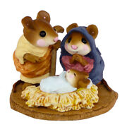 Wee Forest Folk Chris-mouse Pageant, Wff M-117, Nativity Mouse