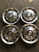 Ford Granada Monarch 1978-1982 Hubcaps Wheelcovers Vintage Mancave Decor Classic