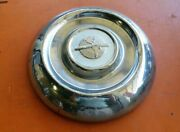1950and039s Vintage Oldsmobile Baby Moon Hub Cap Center Classic Dog Dish Hubcap