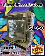 Giles Rt-5 Electric Rotisserie Oven - Commercial Oven With 5 Skewers-220v