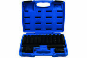 Laser Tools 7128 16pc Heavy Duty Impact Socket And Bit Set 3/4d And 1d