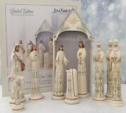 2019 Nib Signed By Jim Shore A Time For Joy Nativity Set 10pc 20 Limited Ed