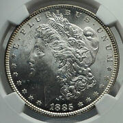 1885 United States Of America Silver Morgan Us Dollar Coin Eagle Ngc Ms I79611