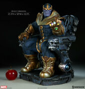 Thanos On Throne Maquette - Sideshow Collectibles