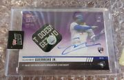 2019 Topps Now /25 Rc Vladimir Guerrero Jr On-card Auto Game Used Base Blue Jays