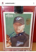 2017 Topps Archives Roy Halladay Auto Bowman /14 Blue Jays Phillies Hof Non-rc