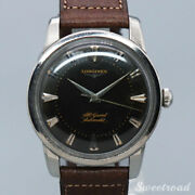 Longines Pre Conquest Cal.19as 1950s Automatic Authentic Mens Watch Works