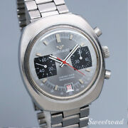 Longines Wittnauer Chronodate Proffessional Manual Hand Wind Mens Watch Works