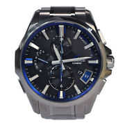 Casio Oceanus Ocw-g2000 Gps Solar Menand039s Ti From Japan [a0717]