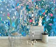 Abstract Oil Painting Wall Mural Home Office Nursery Decor Art Sticker Decal A20