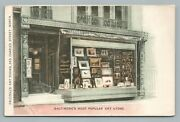 Frizzell's Art Store Baltimore Maryland—rare Antique Advertising Udb 1908