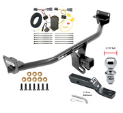 Trailer Tow Hitch For 16-18 Hyundai Tuscon Complete Package W/wiring 1-7/8 Ball