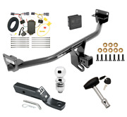 Trailer Tow Hitch For 16-18 Hyundai Tuscon Deluxe Package Wiring 2 Ball And Lock