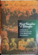 First Families Of Tennessee, A Register. East Tennessee Historical Society