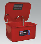 Sealey Sm21 Parts Cleaning Tank Bench/portable