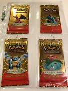 4 X Pokemon Sealed Booster Packs Italian Expedition All 4 Arts - Unweighed