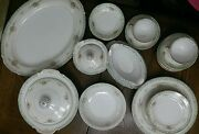 Antique Very Rare 31 Piece Set Of Hurricane Helen Chinamade In Occupied Japan