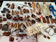 Marx Johnny West Geronimo And Accessories Parts Pieces Lot And More L@@k