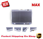 3 Row Full Aluminum Cooling Radiator For 59-65 Chevy Impala Bel Air El Camino
