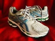 Asics Gel-kayano 16 Igs Blue/white Sneakers Running Shoes Womenand039s 7.5 T051n