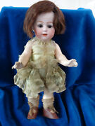 Antique Doll With Old Dress So Cuuute Character Doll