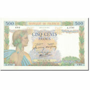 [594113] France 500 Francs 500 F 1940-1944 And039and039la Paixand039and039 1941-10-30 Unc63