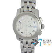 Baume And Mercier Mv045216 Cape Chrono Automatic Ss From Japan [a0731]