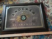 Andeker Of America Pabst Brewing Co [22.5'' X 16''] Bar_pub_tavern Mirror Sign