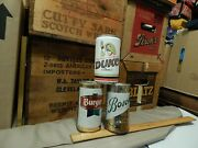 Pull Tab Beer Cans {lot Of 3} Burger + Bosch + Duke The Of Pilseners