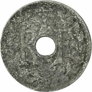 [483303] Coin French Indo-china 1/2 Cent 1940 Paris Vf20-25 Zinc