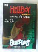Hellboy Animated Sword Of Storms Fighting Bust-ups Up Gentle Giant New Sealed