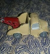 Vintage Cast Iron Toy Tow Truck -japan