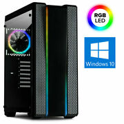 Gamer Pc Intel I9 9900k 8-32gb Ddr4 Ssd+hdd Z390 Gtx1650 Win10 Gaming Computer