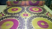 Suzani Passion High End Donghia Upholstery Fabric - 3 Yards
