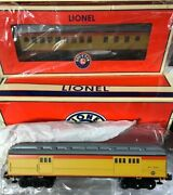 Lionel 6-25103 Chessie Steam Special Madison Car 2-pack New In Box