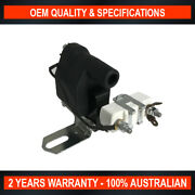 Universal Ignition Coil W Resistor For Points Ignition System Replace Oil Filled