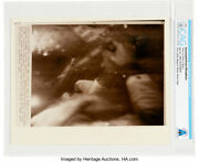 Neil Armstrong Collection Apollo 11 Mike Collins Wire Photo Ngc Cag Certified