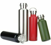 Thermos Flask Water Bottle Double Wall Stainless Steel Leak Proof Travel Tea Mug