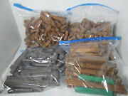 Lincoln Logs Large Mixed Lot 4.5lbs Frontier Cabin Tumble Tree Timbers Kid Fun