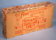 1930s Dent Toys 7 Cast Iron Soldiers In Original Box Toyland's Treasure Chest Pa