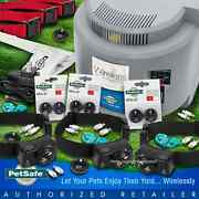 Pet Fence Pif-300 Wireless Fence Pif-275 Free Black Collar Petsafe Fence 3-dogs