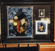 Haunted Mansion 50th Happy Haunts Cel Framed With Pin In-hand